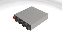 bx-VKS 8-75/150 Schalldämm-Verteilerkasten 8 Anschlüsse