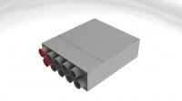 bx-VKS 10-75/150 Schalldämm-Verteilerkasten 10 Anschlüsse