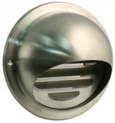Edelstahl Ablufthaube mit Stutzen Ø 150 mm