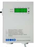 BL220DD(SG)+BL220TEMP(SG), Funk-Differenzdrucksensor mit Funk-Temperat