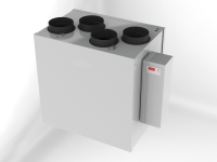 ComfortBox 250-L, mit automatischem Bypass, 250 m³/h, linke Version