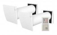 DuoBox DB40 eco - kabelgebunde Lüfter mit Wärmerückgewinnung