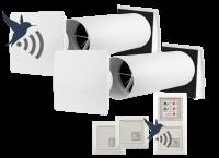 DuoBox DB50 Funk - dezentrale Lüftung für Einzelräume