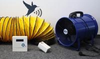 Mobiles Entfeuchtungs Lüftungssystem  bx-ESG-M Funk