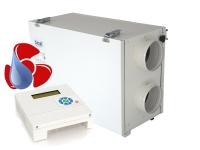 Entfeuchtungs-Lüftungssystem mit Zentralgerät ELS-Z
