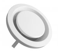 bx-MTVA 125 - Metall Tellerventil Abluft DN 125 mm, weiß