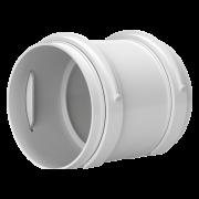 bx-MU 75-K - Verbindungsmuffe für Lüftungsrohre mit Klammern