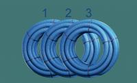 Flexibles Lüftungsrohr 75 mm, 3 x 50 m, Bundpreis 95 € - bx-LR 75/3