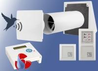 Entfeuchtungs - Lüftungssystem - Wärmerückgewinnung  ELS-WR1 Funk