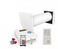 Entfeuchtungs - Lüftungssystem - Wärmerückgewinnung  ELS-WR1 Eco