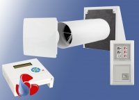 Taupunkt Entfeuchtungs - Lüftungssystem - Wärmerückgewinnung  ELS-WR1