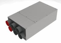 bx-VKS 6-75/160 Schalldämm-Verteilerkasten 6 Anschlüsse