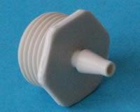 Luftanschlussnippel P4 mit Dichtring ( 2 Stück )