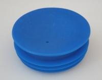 bx-VS 2 - Verschlußstopfen 75 mm blau