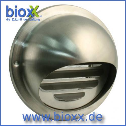bioxx edelstahl ablufthaube mit stutzen 150 mm mit vogelgitter. Black Bedroom Furniture Sets. Home Design Ideas