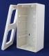 bx-APG Aufputz-Gehäuse, 2-fach, extratief 50mm