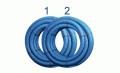 Flexibles Lüftungsrohr 75 mm, 2 x 50 m, Bundpreis 100 € - bx-LR 75/2