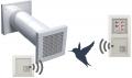 Entfeuchtungs - Lüftungssystem - Wärmerückgewinnung  ELS WR2 Funk