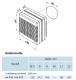 bx-FVA 150 - Fensterventilator Abluft DN 150 mm