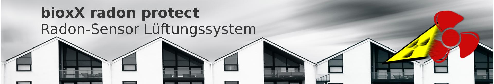 Radon Sensor Lüftungssystem